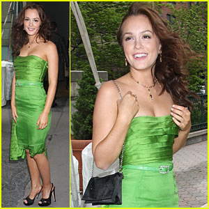 Leighton Meester: It's Easy Being Green!