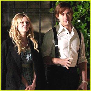 Kirsten Dunst & Ryan Gosling's Sweet Stroll
