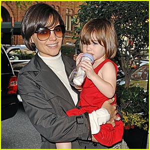 Suri Cruise's Madison Avenue Monday
