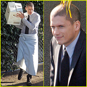 Wentworth Miller is a Waiter