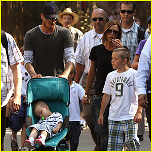 The Beckhams Do Disneyland