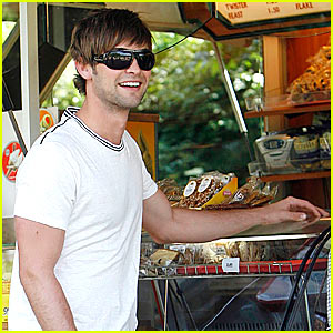 Chace Crawford is a Beauty McQueen