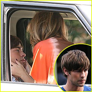 Chace Crawford Gets Straddled