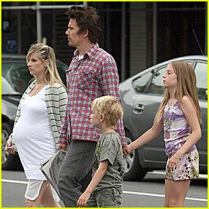 Levon Hawke Photos, News and Videos | Just Jared