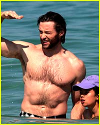 Hugh Jackman Hangs in Saint Tropez