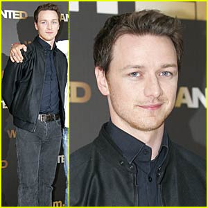James McAvoy is a Wanted Geek