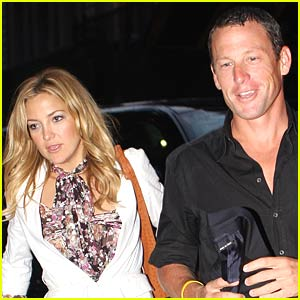 Kate Hudson and Lance Armstrong Do Dinner