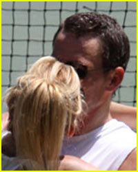Kate Hudson & Lance Armstrong Get Kissy Kissy