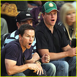 Matt Damon: Lose, Lakers, Lose!