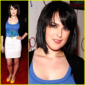 Rumer Willis is a Surfer Girl