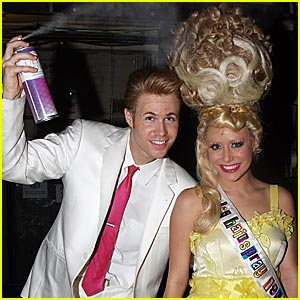 Aubrey O'Day is a Hairspray Hottie