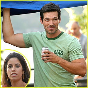 Eddie Cibrian is Ugly Betty Buff