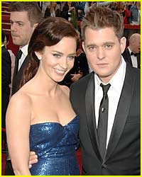 Emily Blunt and Michael Buble Split