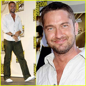 Gerard Butler is Comic-Con Crazy