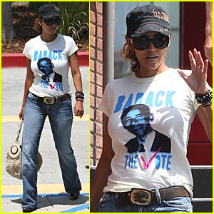 Halle Berry: Barack The Vote!