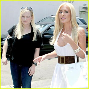 Photo of Heidi Montag & her friend  Meghan McCain