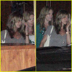 Jennifer Aniston Leaves Sunset at Sunrise