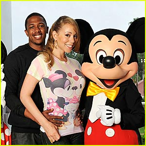 Mariah Carey is a Disney Lovebird