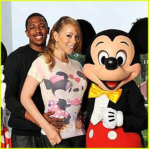 Mariah Carey is a Disney Lovebird
