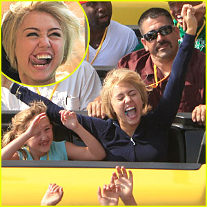 Miley Cyrus is a Roller Coaster Rocker