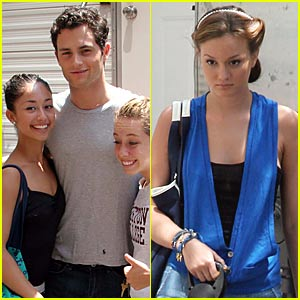 Penn Badgley And His Flurry Of Fangirls