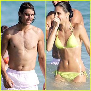Rafael Nadal Has a Bikini Babe
