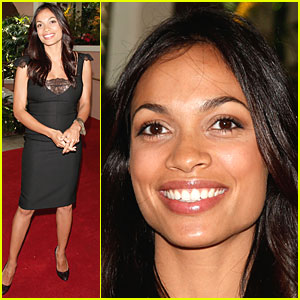 Rosario Dawson Jumps into Gemini