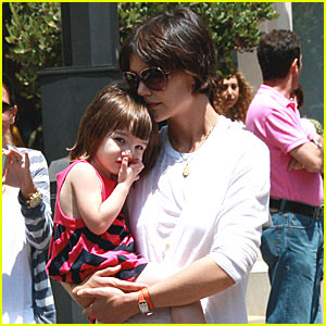 Suri Cruise is an American Girl