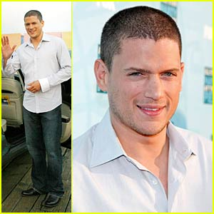 Wentworth Miller is Hyped on Hydrogen