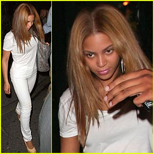 Beyonce joins rapper husband Jay-Z on Thursday night at the New York ...
