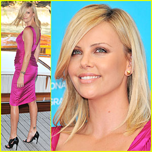 Charlize Theron is Burning Up