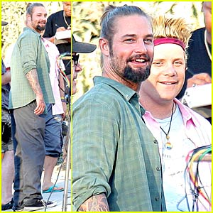 Josh Holloway Has A Cool Ponytail