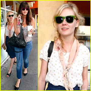 Kirsten Dunst's Starbucks Saturday