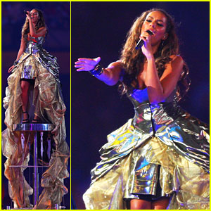 Leona Lewis' Olympic Closing Ceremony