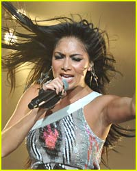 Nicole Scherzinger Gets A Killer Workout