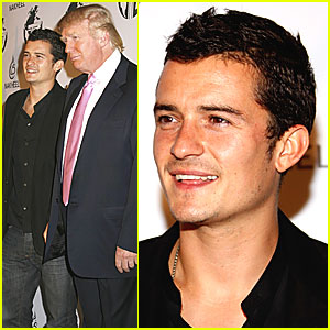 Orlando Bloom Gets Trump Terrific