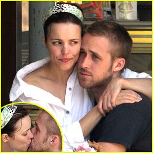 Rachel McAdams Enjoys Ryan Gosling's Lap