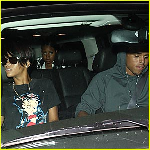 Rihanna & Chris Brown Make It Mastro's