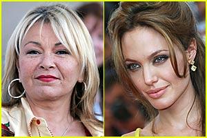 Rosanne Barr Hates Angelina Jolie