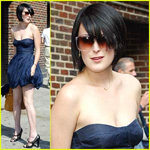 Rumer Willis Does Dave