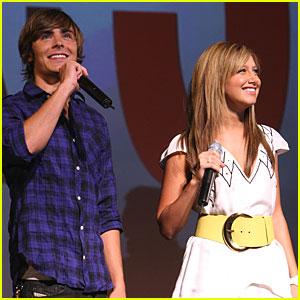 Zac Efron Has High School Musical Pep Rally!