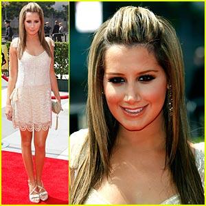 Ashley Tisdale - Creative Arts Emmy Awards 2008