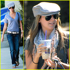 Ashley Tisdale Records For Rehearsal