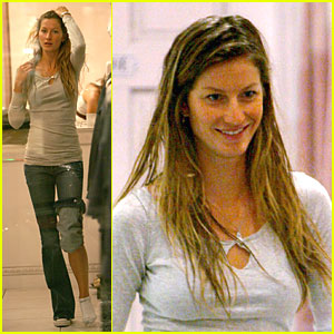 Gisele Bundchen Goes Boutique Bananas