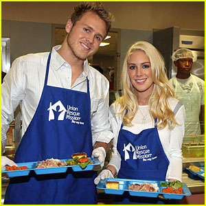 Heidi Montag Gives Back