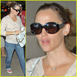 Jennifer Garner: Check-up Time!