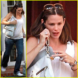 Jennifer Garner's Friendly Departure