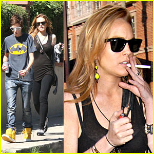 Lindsay Lohan: Thank You For Smoking