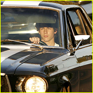 Nick Jonas Can Manage A Mustang