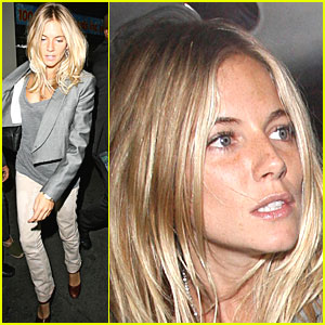 Sienna Miller Has a Soho Smile